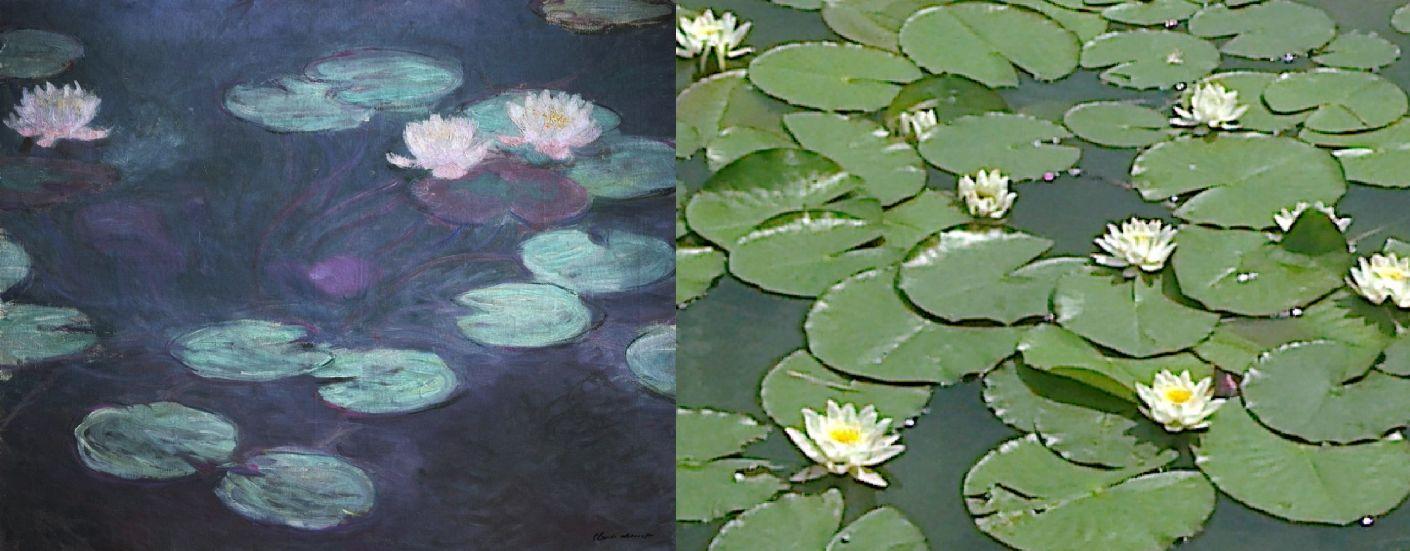 Клод Моне. Водяные лилии врозовом. 1898/ світло (ВКонтакте) 2019