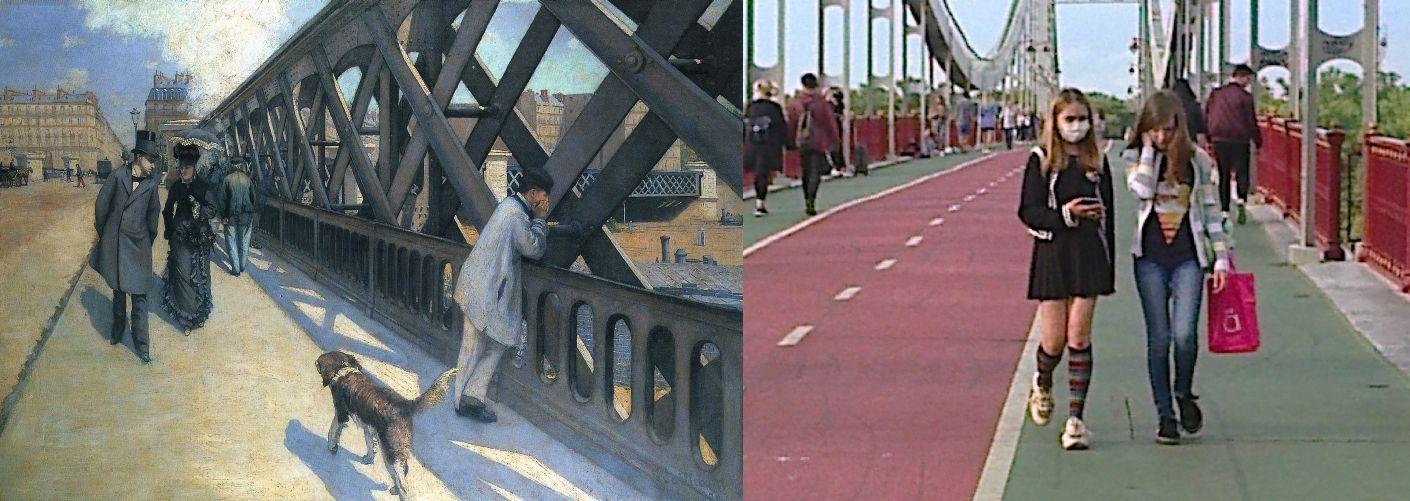 Гюстав Кайботт. Мост Европы. 1875/ світло (ВКонтакте) 2019